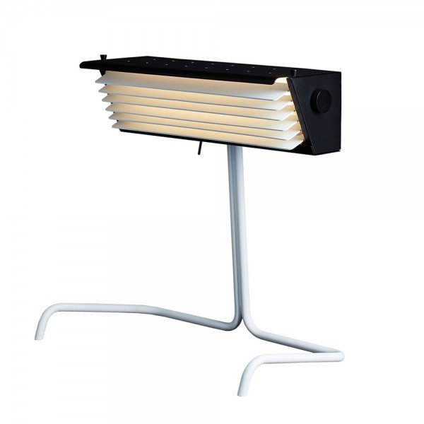 Biny table lamp DCW Editions white base