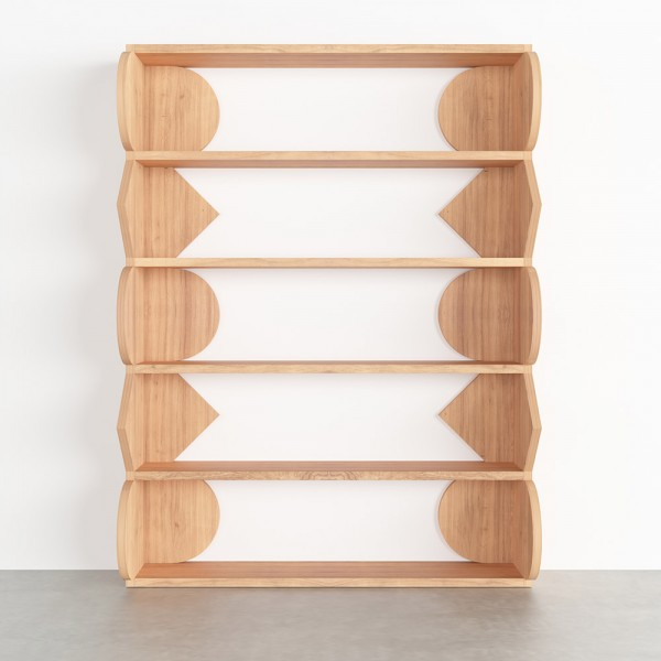 SYMMETRY BOOKSHELF by Atelier Areti