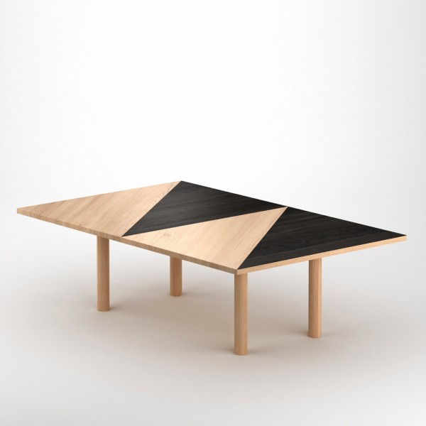 TABLE PARALLELOGRAM by Atelier Areti