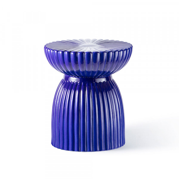 Du Roy stool Maison Dada blue