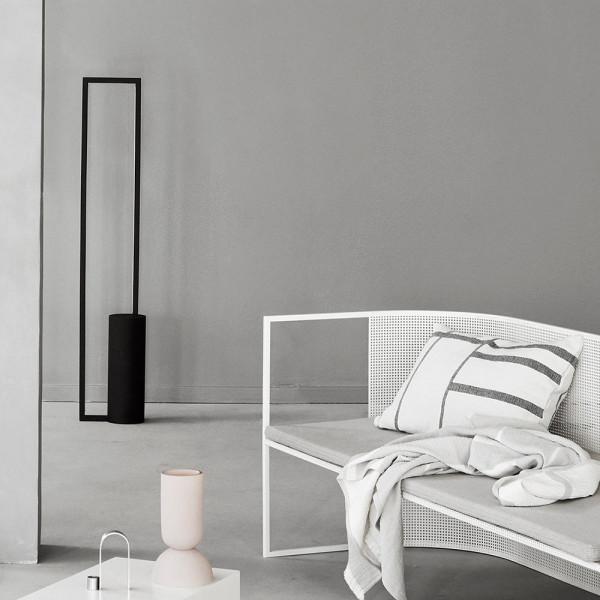Lampe Cylinder noir dans le salon