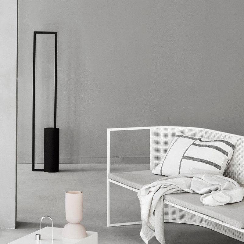 Cylinder Floor Lamp by Kristina Dam