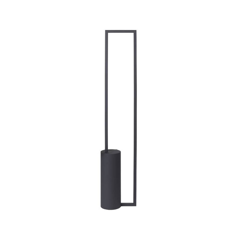 Cylinder Floor Lamp Black
