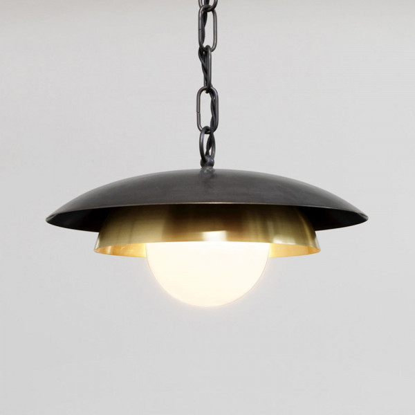 Carapace pendant by CTO Lighting