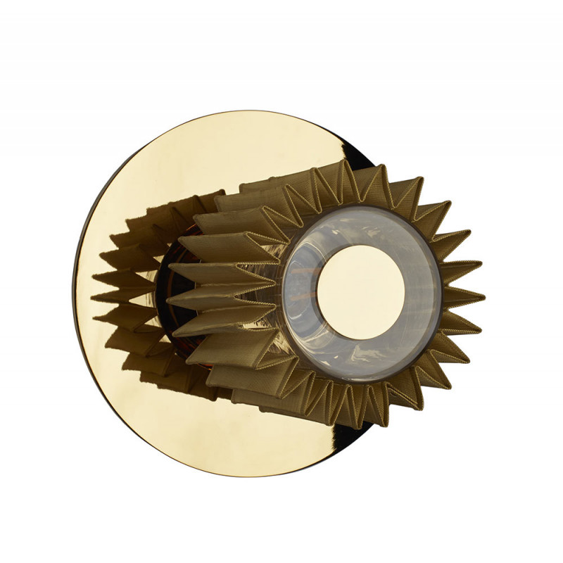 In The Sun wall light by DCW Editions D19cm gold - gold