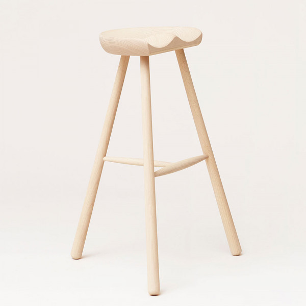 Shoemaker Stool 78 Beech Form and Refine