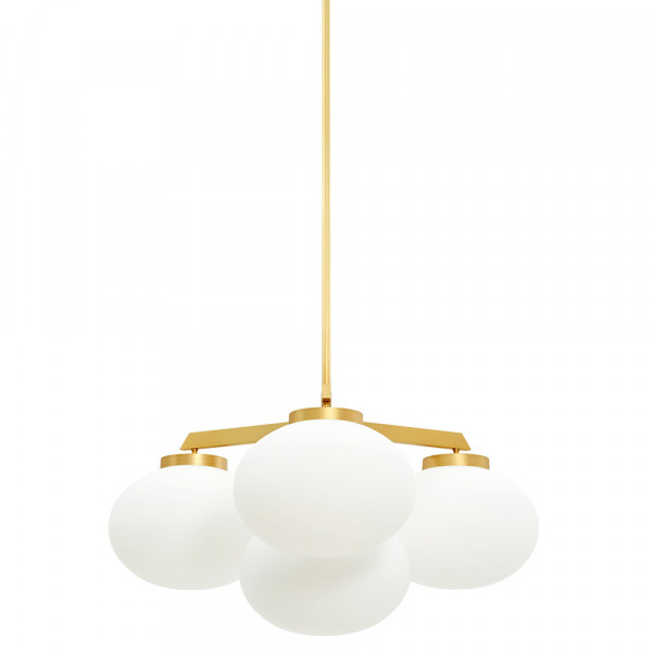 Cloudesley pendant, CTO Lighting, brass small