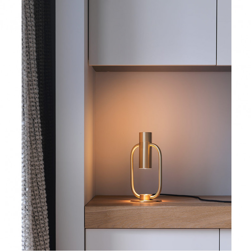 Storm table lamp, CVL Luminaires, styled in interior setting