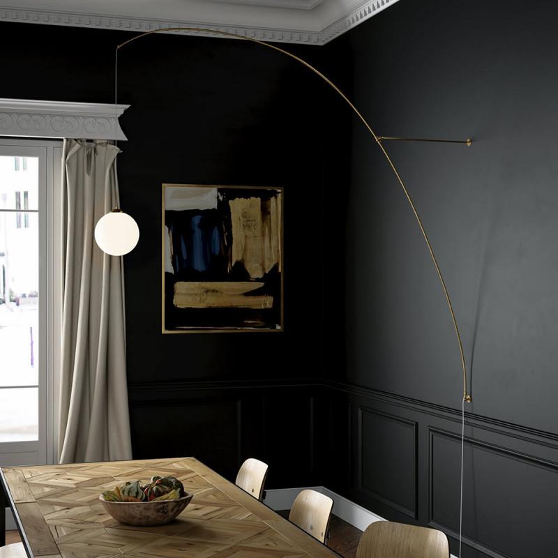 Iris wall lamp, Gobo lights, brass