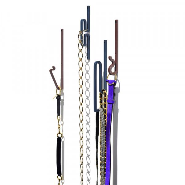 Zag hooks belt holder
