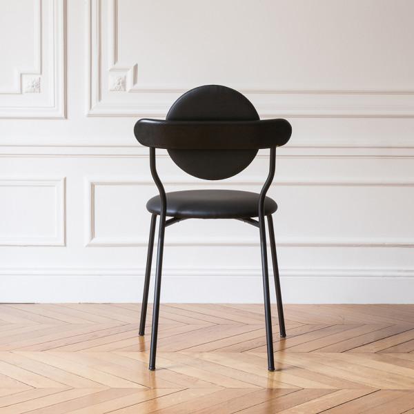 Planet chair black back