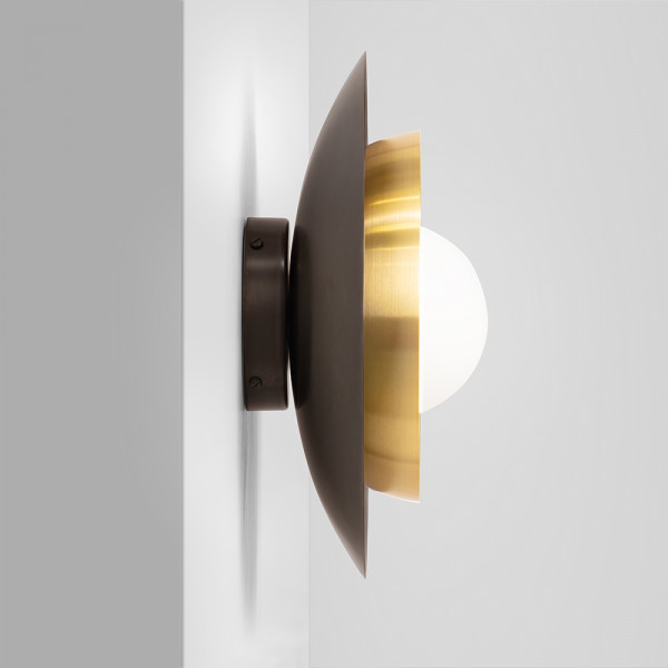 Carapace wall light by CTO Lighting