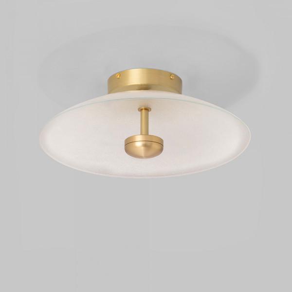 Cielo ceiling light CTO Lighting, brass