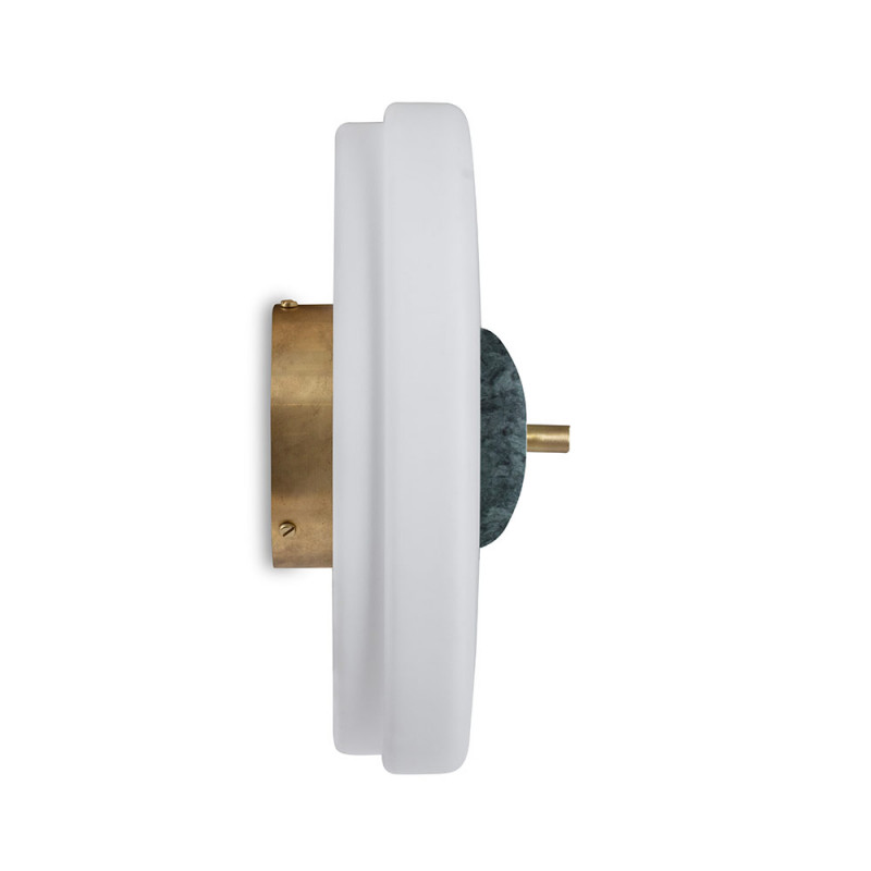trave wall light green in profile