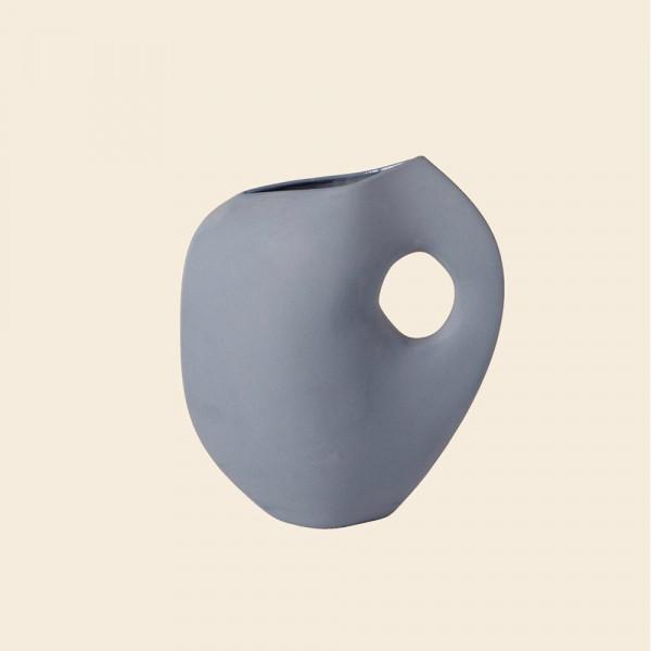 Aura vase by Schneid Studio, blue