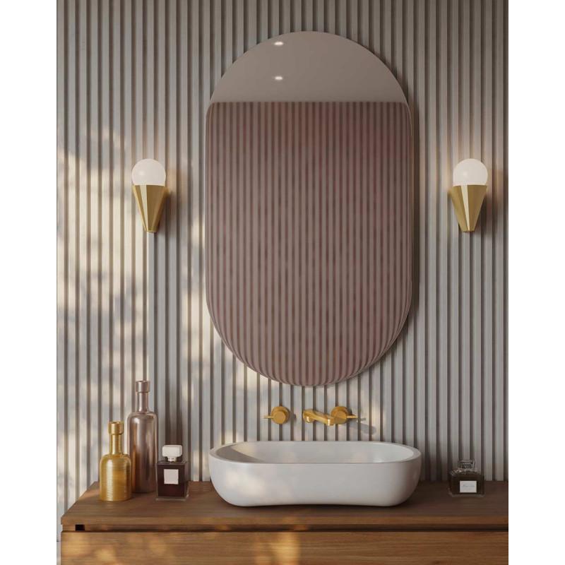 Applique IP Cornet by VCL Luminaires dans la salle de bain