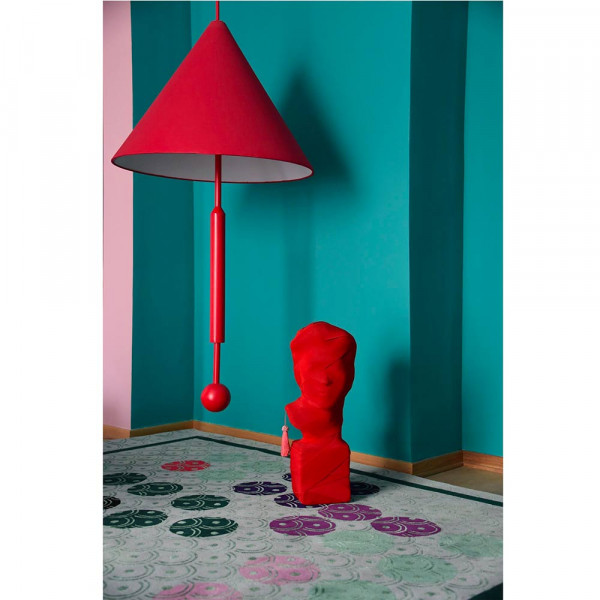 Suspension object of discussion rouge by Maison Dada