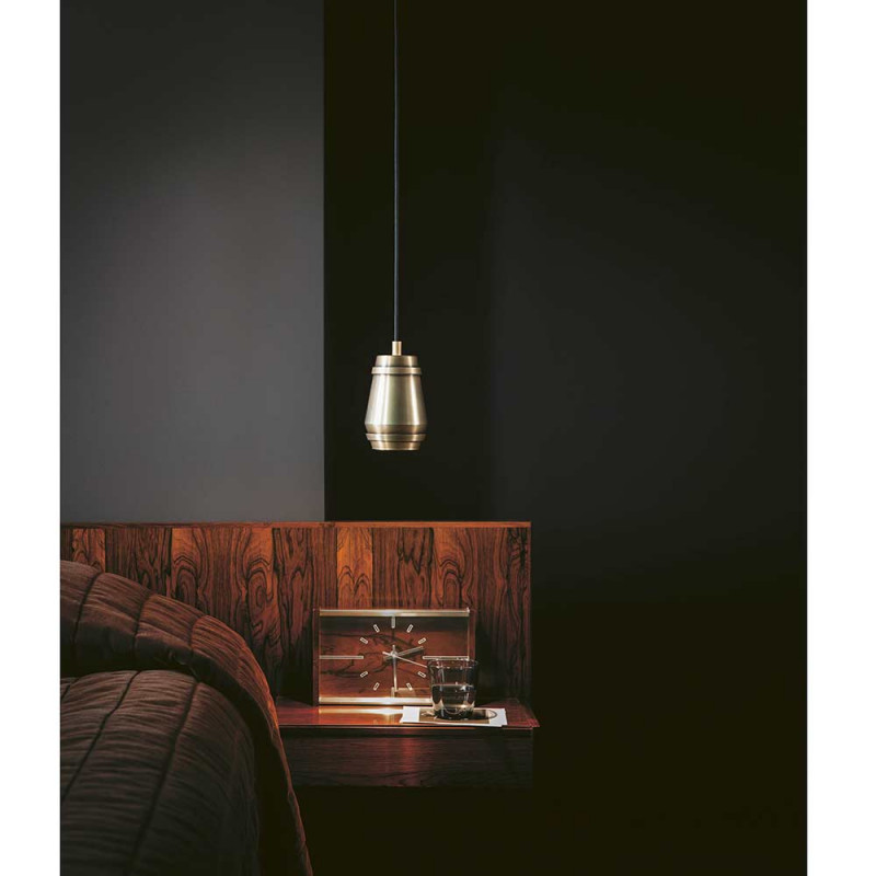 Cask pendant by Bert Frank in the living room