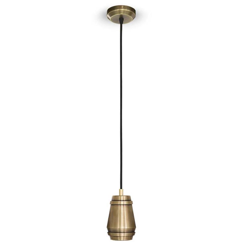 Cask pendant by Bert Frank brass