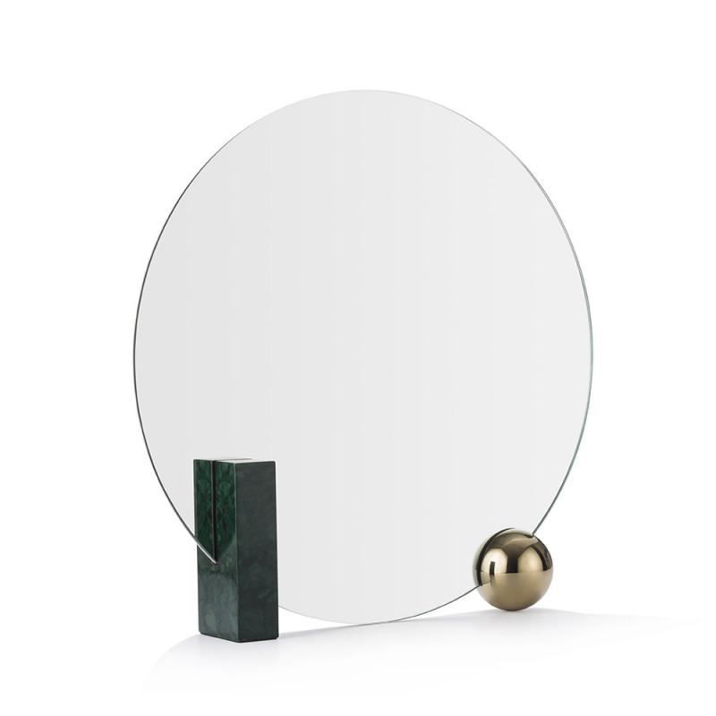 Miroir Looking For Dorian vert de profil