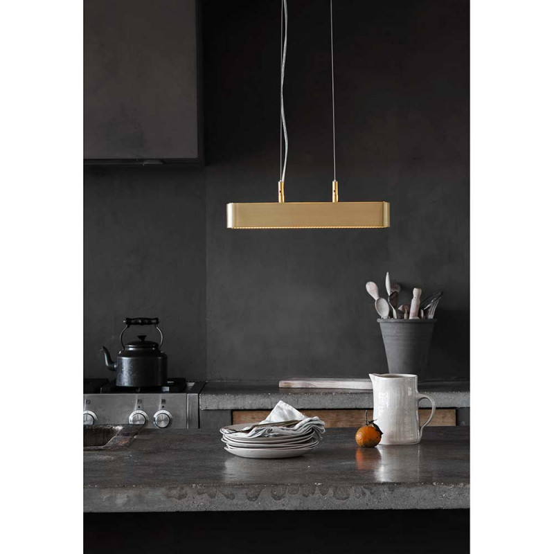 Colt single pendant in the kitchen