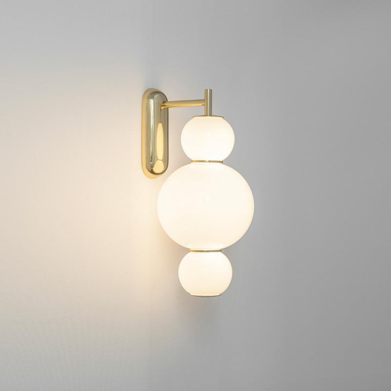 Applique Pearls A by Formagenda laiton