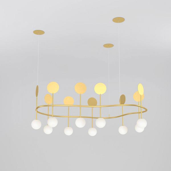 Atelier Areti Row circle pendant light