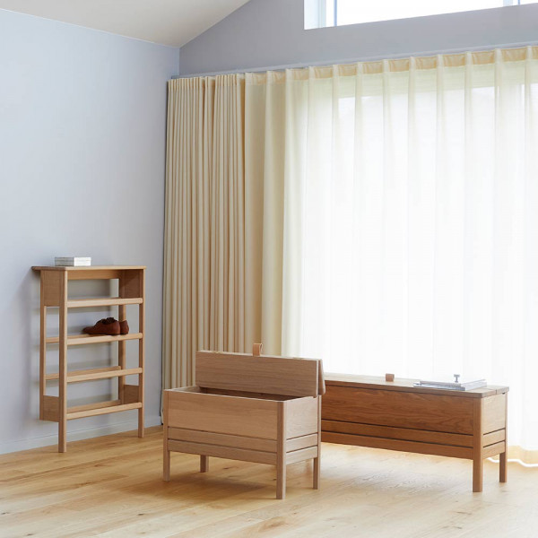 A LINE 68 STORAGE BENCH by Form and Refine