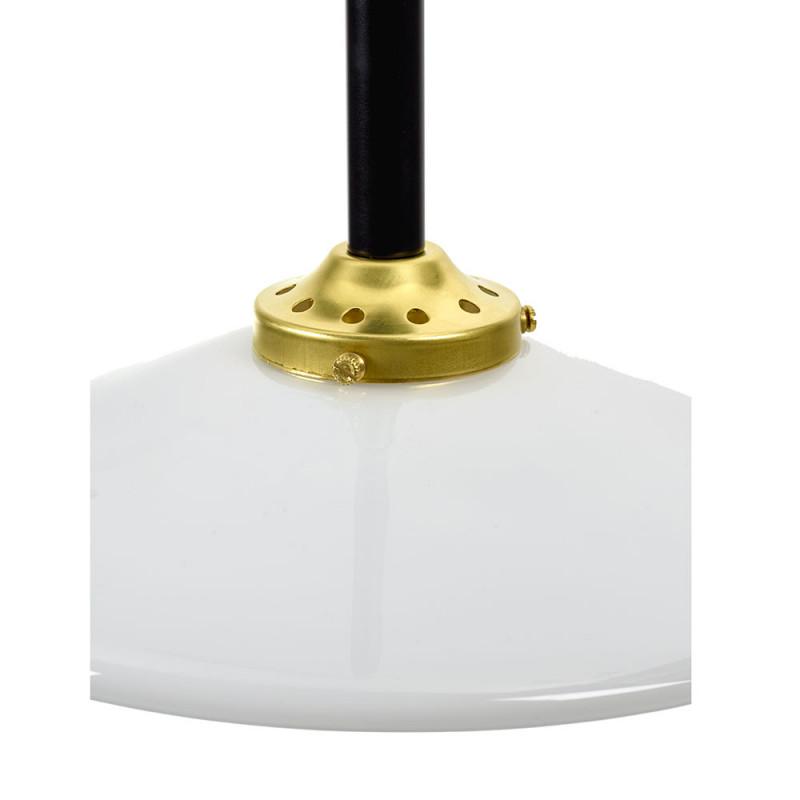 Ceiling lamp noir détail