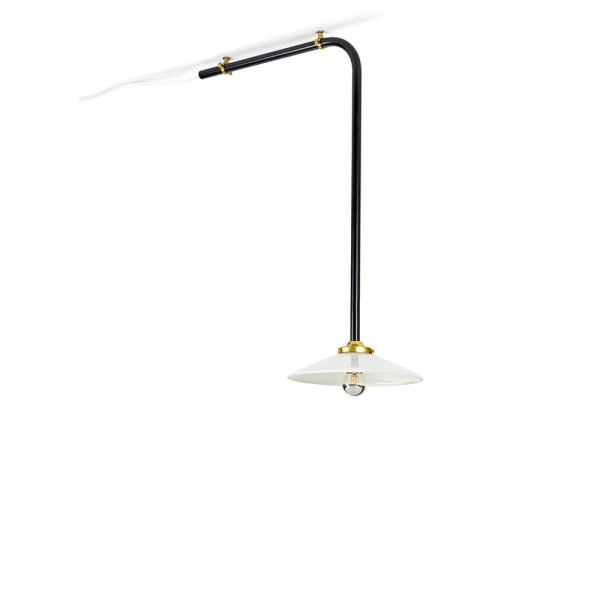 Ceiling lamp 72 cm noir