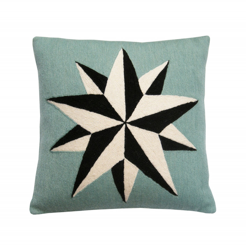 Estelle cushion by Lindell & co in blue
