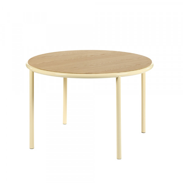 TABLE ROUND WOODEN by Valerie Objects