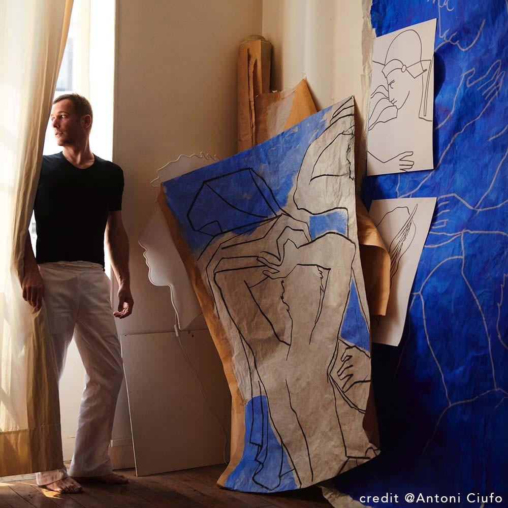 Artist Roberto Ruspoli | Chiara Colombini