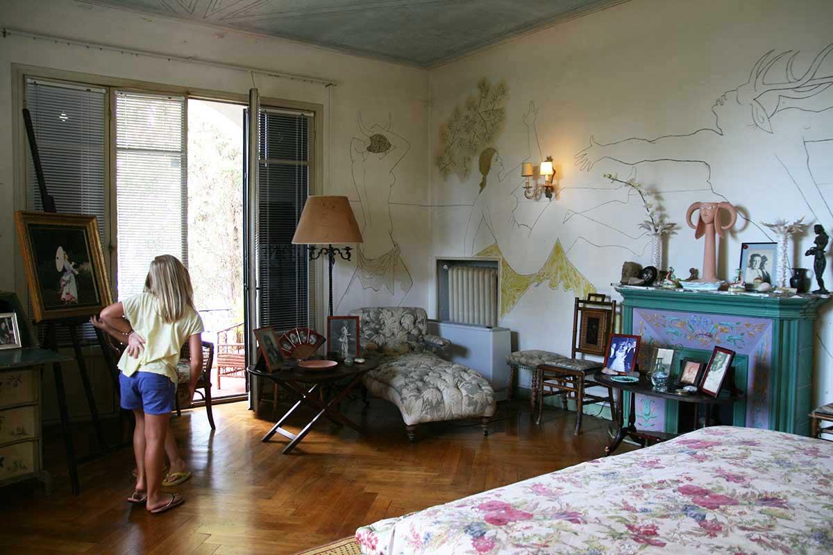 110955f5551 Francine Weisweiller s bedroom