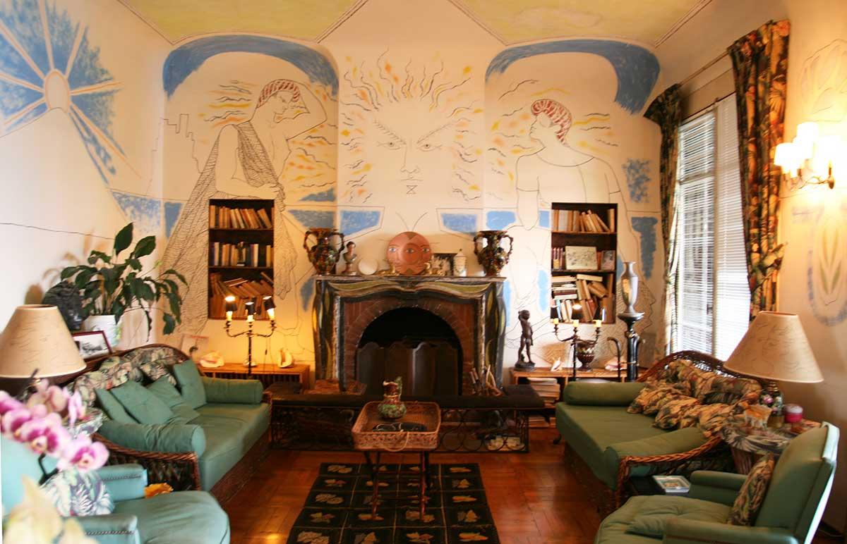 Villa Santo Sospir - Living Room