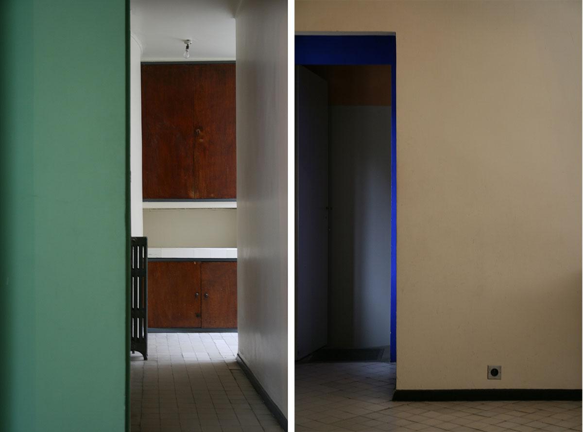 Le Corbusier's use of colour