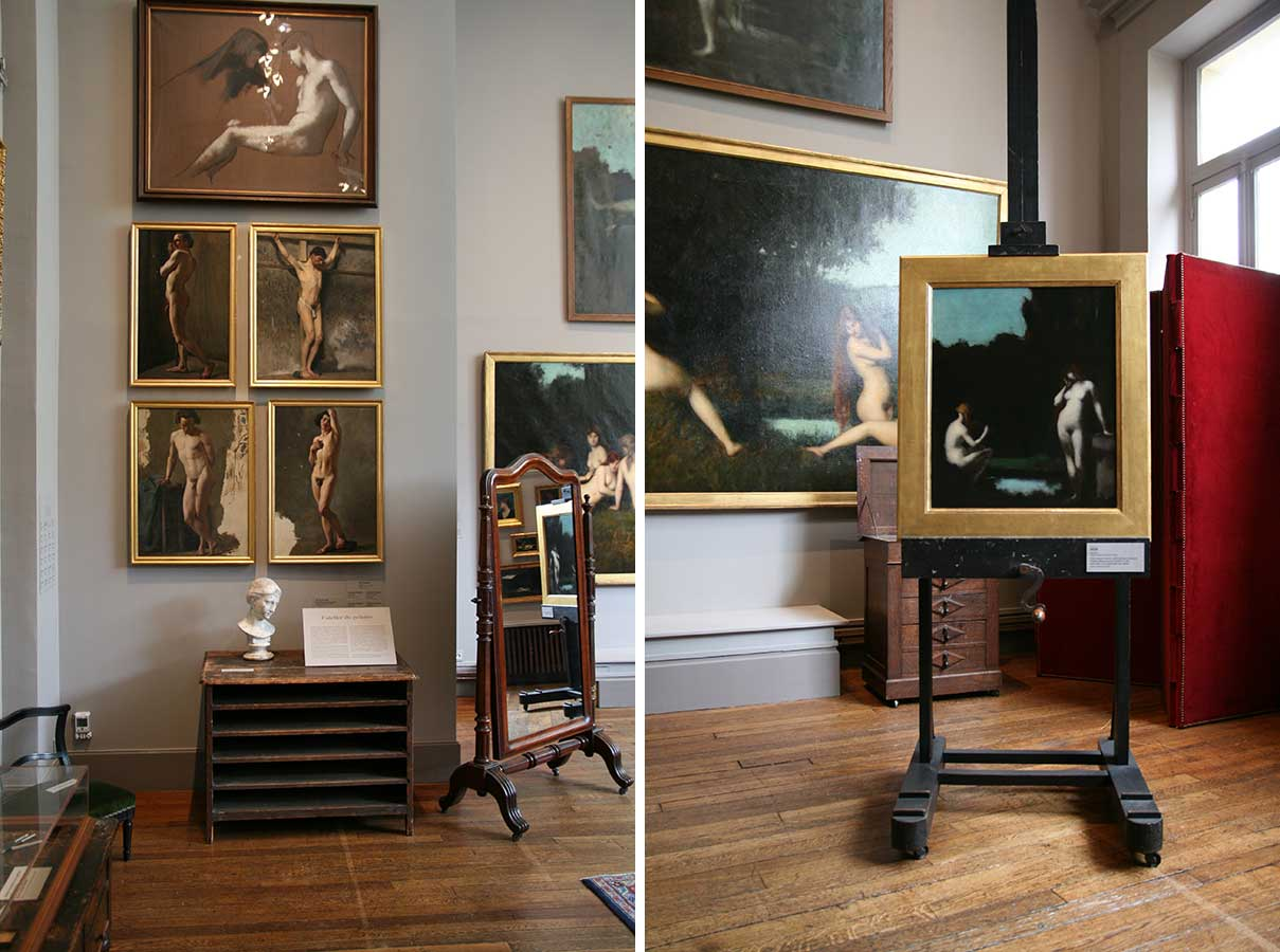 Musee Jean Jacques Henner. The Studio.