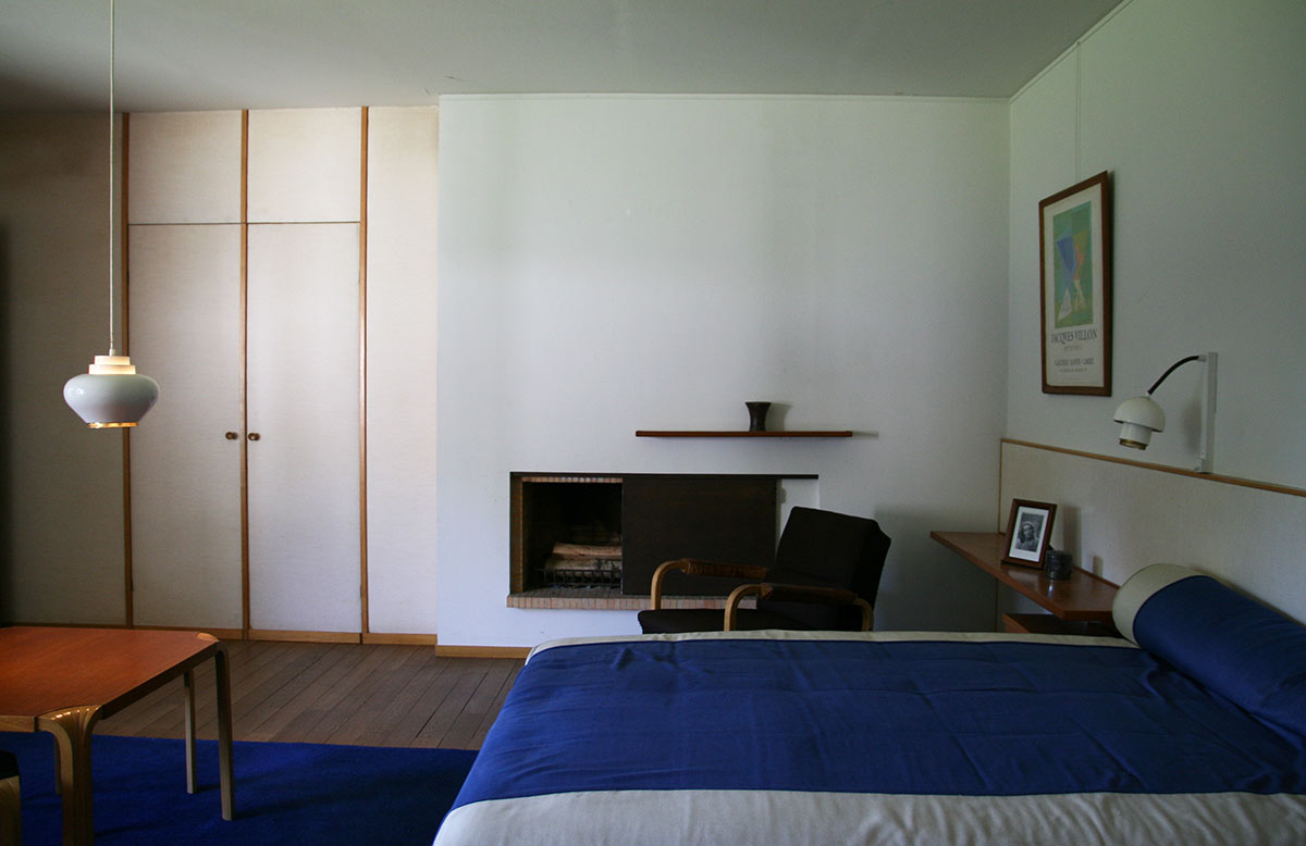 Louis Carré's bedroom