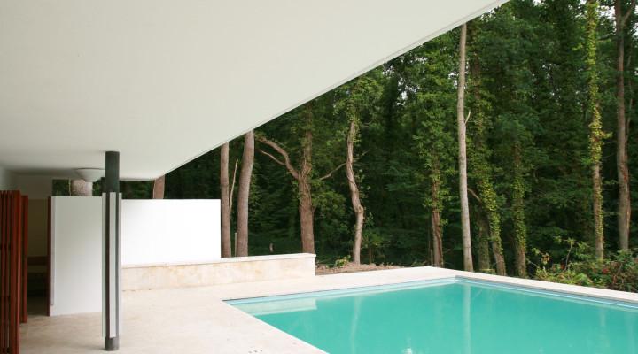 Alvar Alto Swimming Pool, Maison Louis Carré