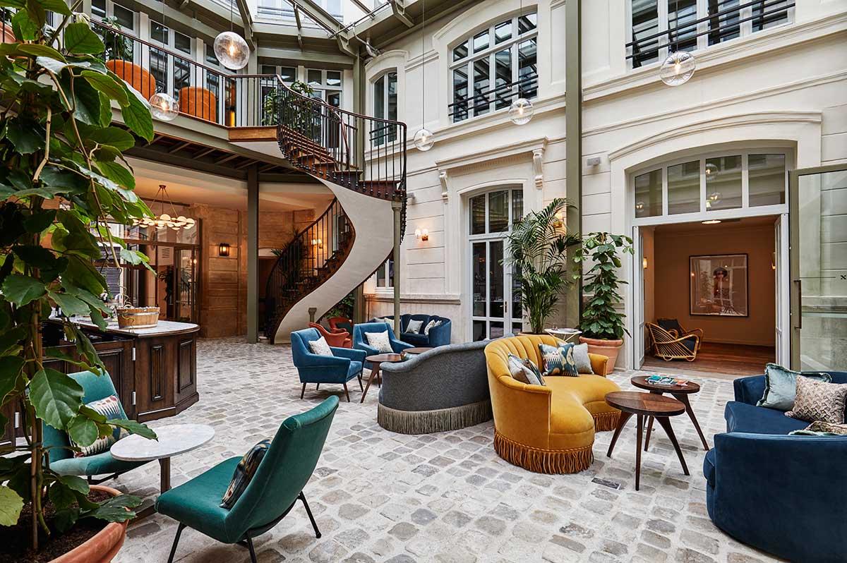 The Hoxton Paris Lobby