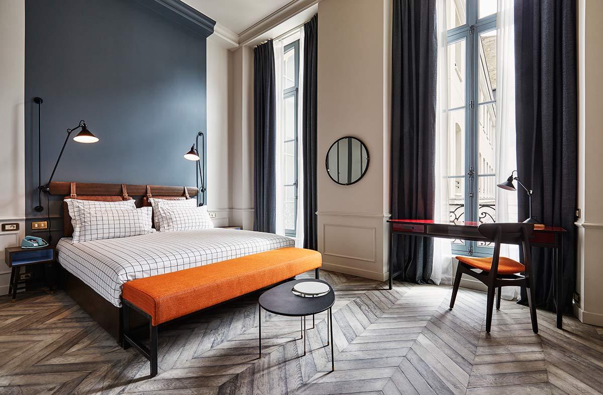 The Hoxton Paris, Bedrooms