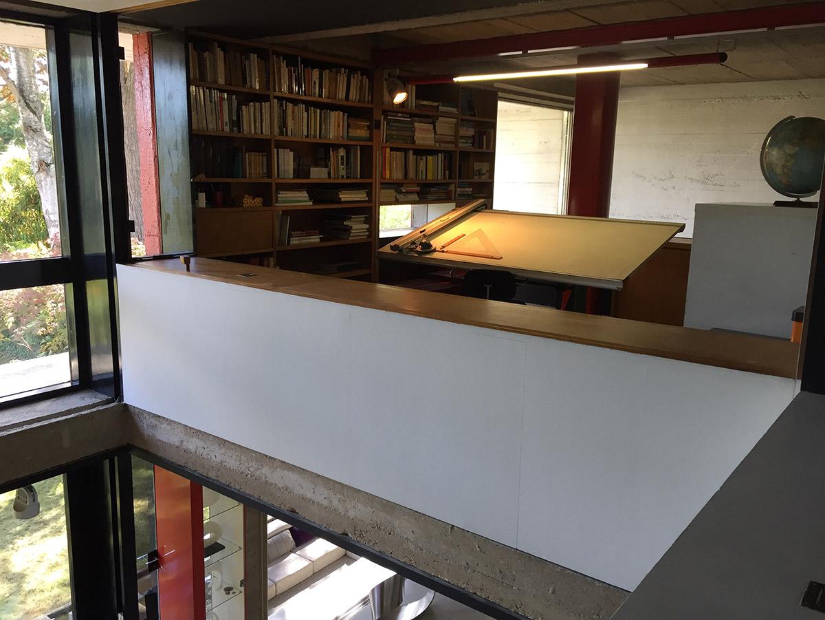 André Wogenscky's study