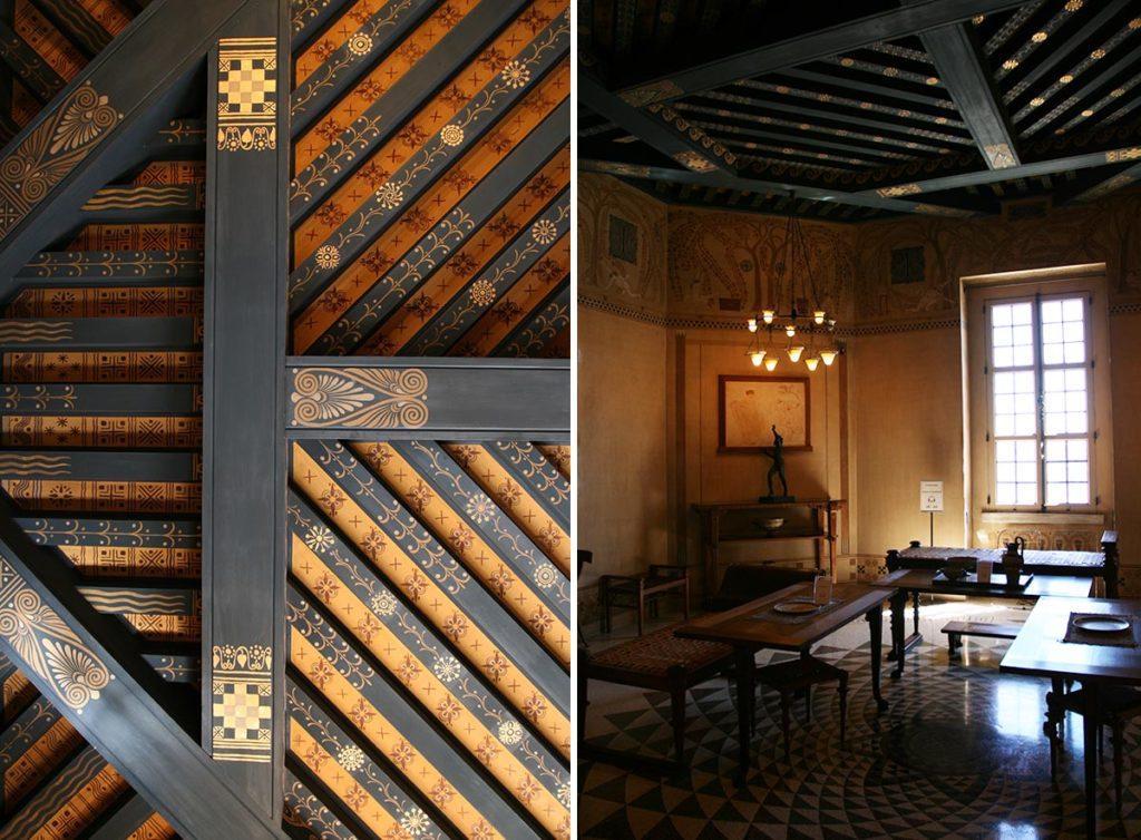Dining Room, Villa Kerylos