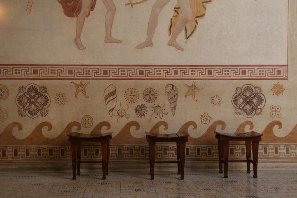 Villa Kerylos, fresco