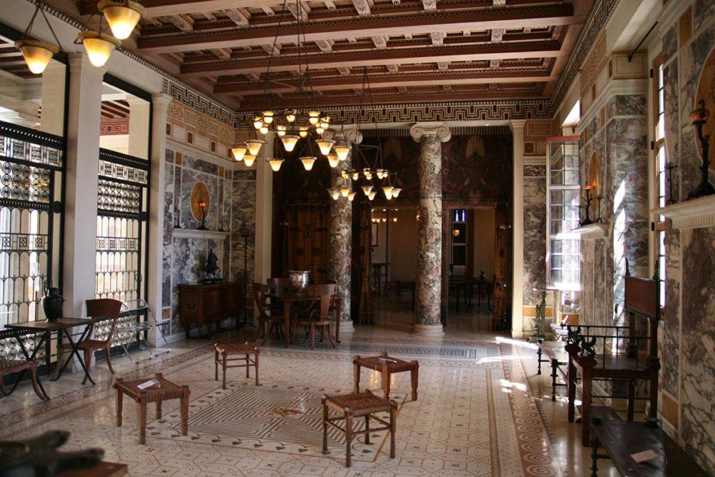 Villa Kerylos, state rooms